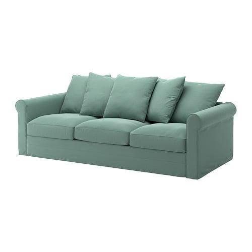 gr nlid canap 3 places ljungen vert clair ikea. Black Bedroom Furniture Sets. Home Design Ideas