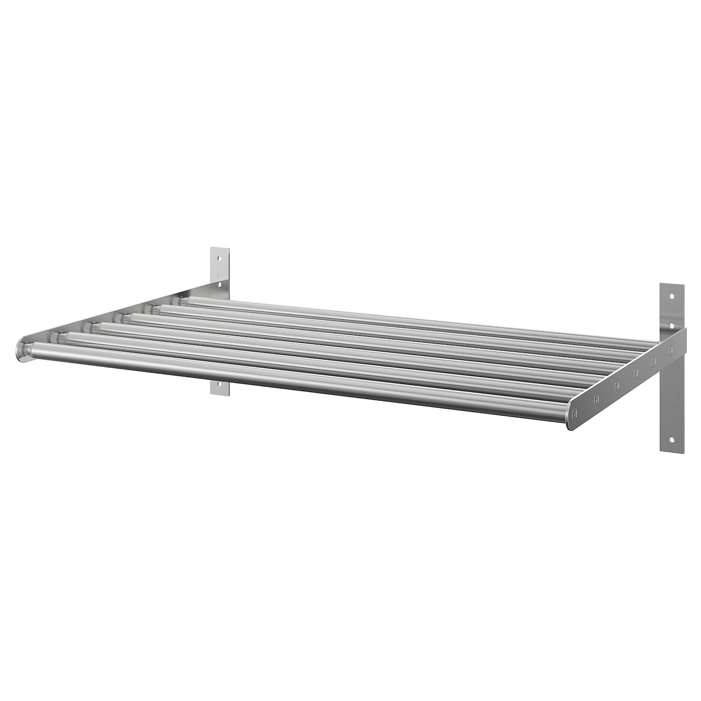 Ikea Grundtal – étagère murale en acier inoxydable: Amazon