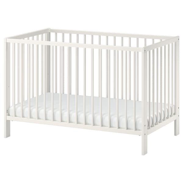GULLIVER Lit bébé, blanc, 60x120 cm