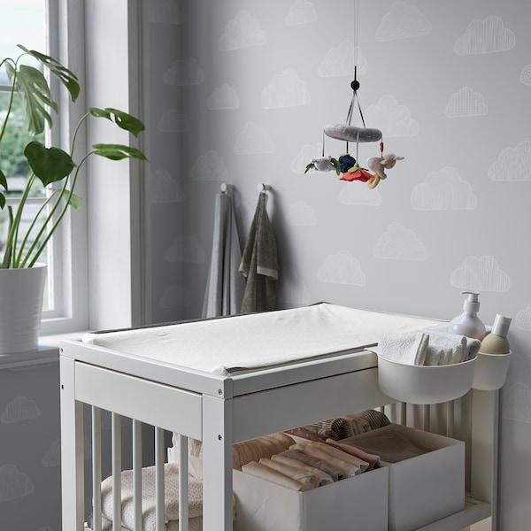 GULLIVER Table à langer, blanc