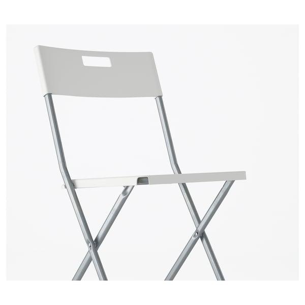 pliante GUNDE GUNDE Chaise GUNDE Chaise pliante blanc pliante blanc GUNDE blanc Chaise Chaise pliante u3cTlKF1J5