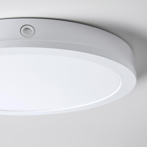 Gunnarp Plafonnier Applique Blanc Intensite Lumineuse Reglable