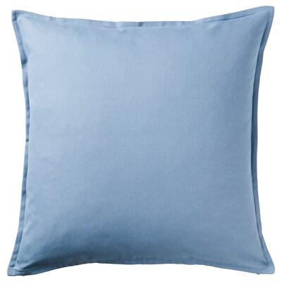 GURLI housse de coussin bleu clair 50 cm 50 cm