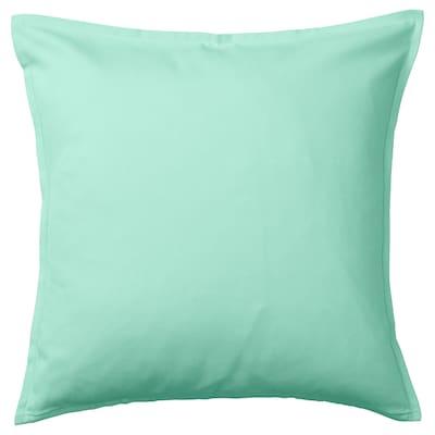 GURLI housse de coussin turquoise-vert clair 50 cm 50 cm
