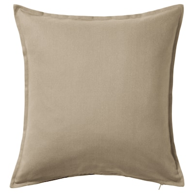 GURLI housse de coussin beige 50 cm 50 cm