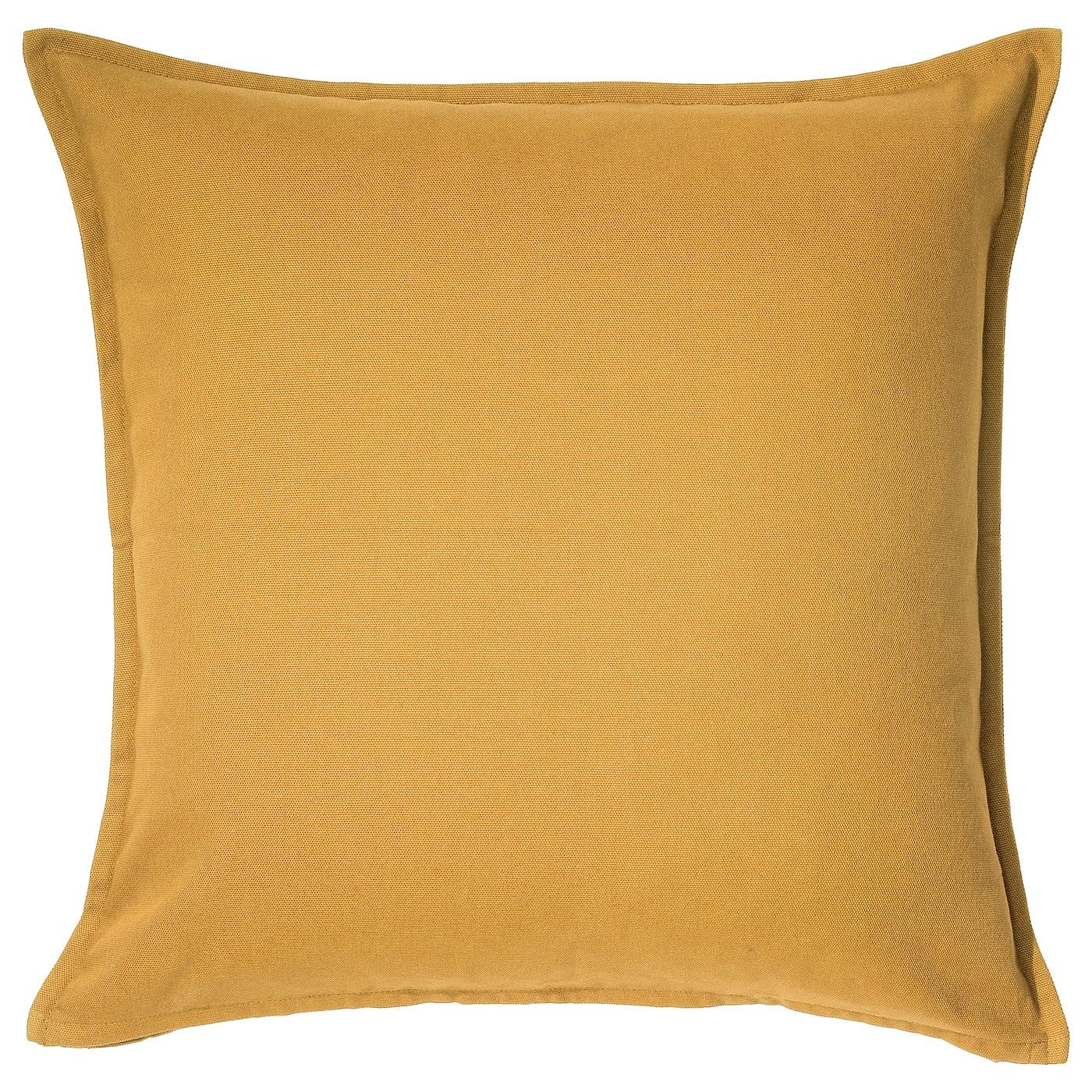 GURLI Housse de coussin - jaune doré - IKEA