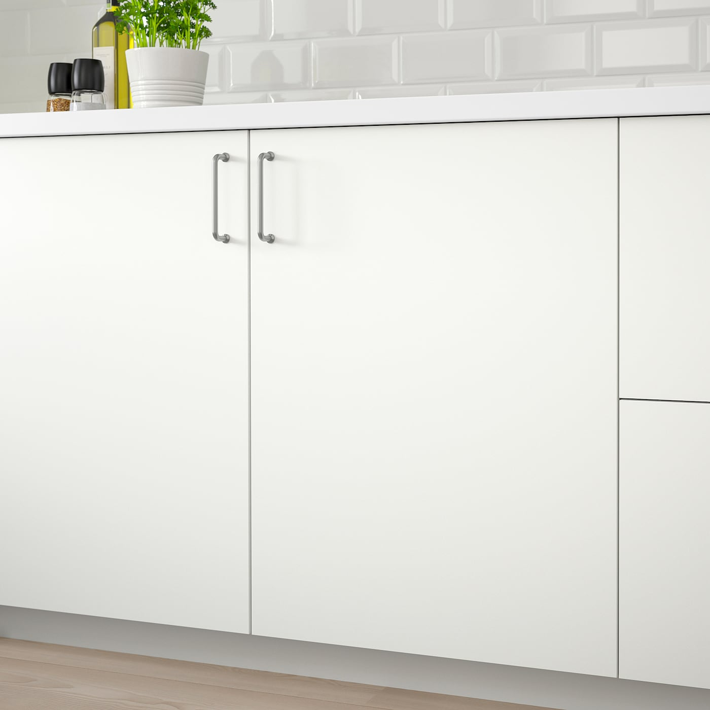 HÄGGEBY Porte - blanc 15x15 cm