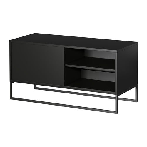 hagge banc tv noir ikea. Black Bedroom Furniture Sets. Home Design Ideas