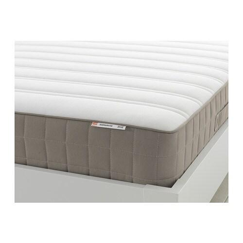 hamarvik matelas ressorts 140x190 cm mi ferme beige fonc ikea. Black Bedroom Furniture Sets. Home Design Ideas