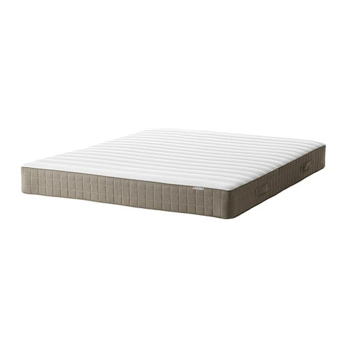 hamarvik matelas ressorts 140x190 cm mi ferme beige fonc ikea. Black Bedroom Furniture Sets. Home Design Ideas