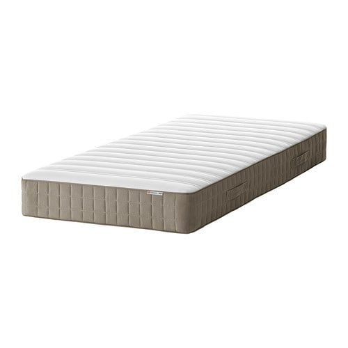 hamarvik matelas ressorts 90x190 cm mi ferme beige fonc ikea. Black Bedroom Furniture Sets. Home Design Ideas