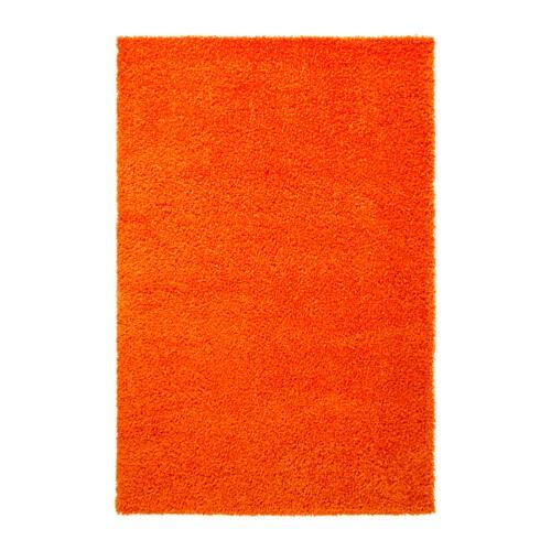 HAMPEN Tapis, poils hauts  133×195 cm  IKEA