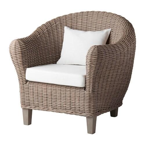 Harads fauteuil avec coussin gris ikea - Ikea coussin fauteuil ...