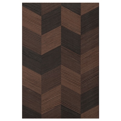 HASSLARP Porte, brun à motifs, 40x60 cm