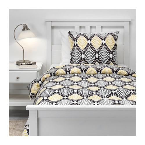 housse de couette jaune et grise beautiful toile jaune fluo parure de lit housse de couette. Black Bedroom Furniture Sets. Home Design Ideas