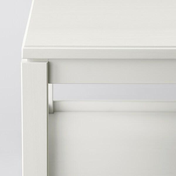 HAVSTA table basse blanc 75 cm 60 cm 48 cm