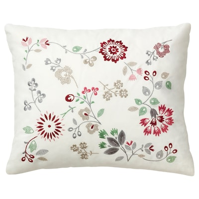 HEDBLOMSTER Coussin, multicolore, 50x60 cm