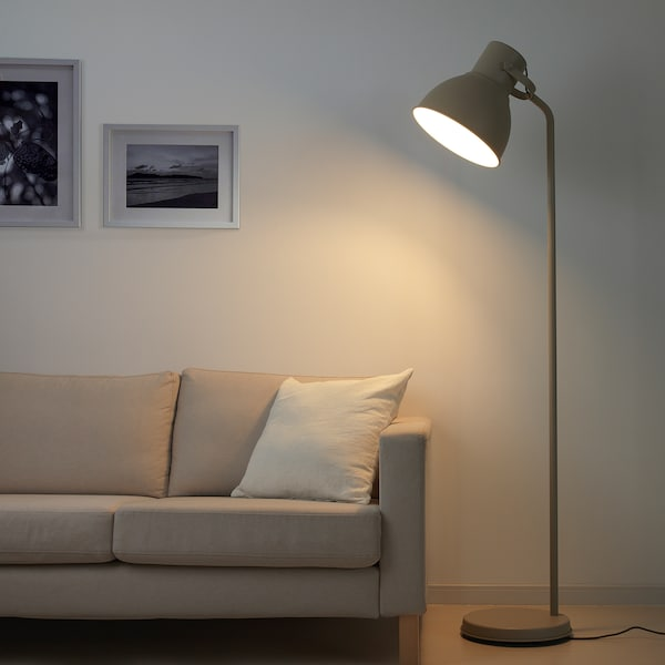 HEKTAR lampadaire beige 53 W 181 cm 32 cm 1.9 m
