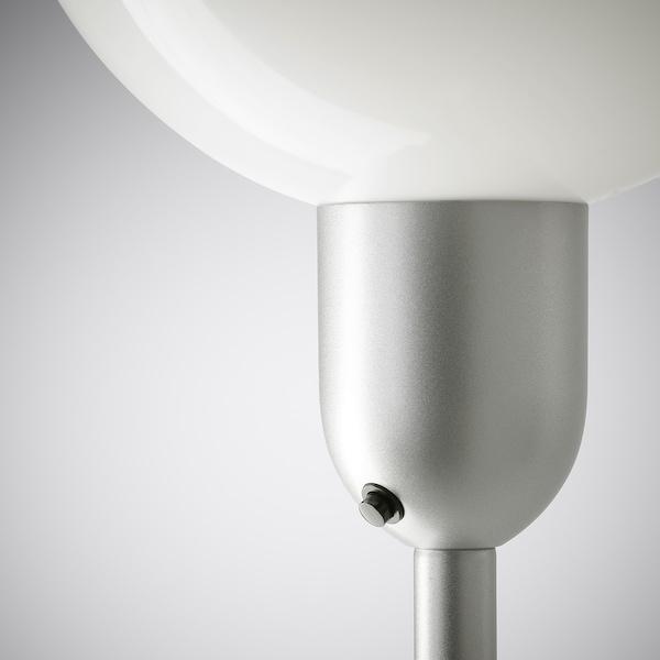 HEKTOGRAM Lampadaire/liseuse, couleur argent/blanc