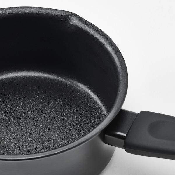 HEMLAGAD Casserole, noir, 1 l