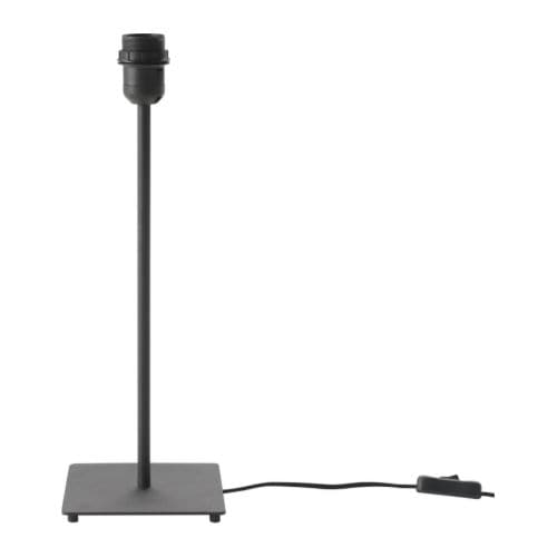 Hemma pied de lampe de table 45 cm ikea - Ikea pied de table ...