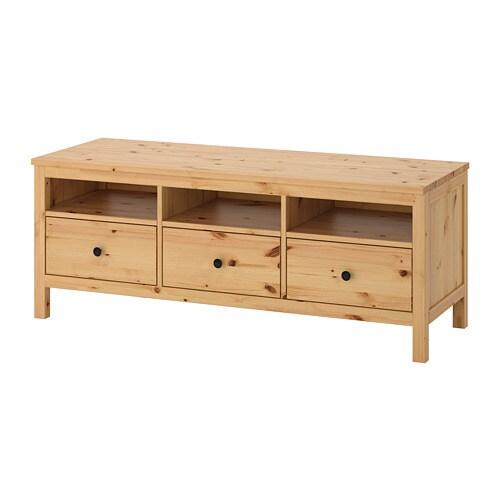 hemnes banc tv brun clair ikea. Black Bedroom Furniture Sets. Home Design Ideas