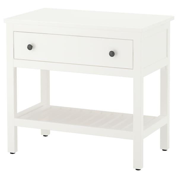 HEMNES Élément lavabo ouvert avec 1 tiroir, blanc, 82x48x76 cm