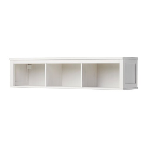 hemnes tag re murale pont teint blanc 148x37 cm ikea. Black Bedroom Furniture Sets. Home Design Ideas