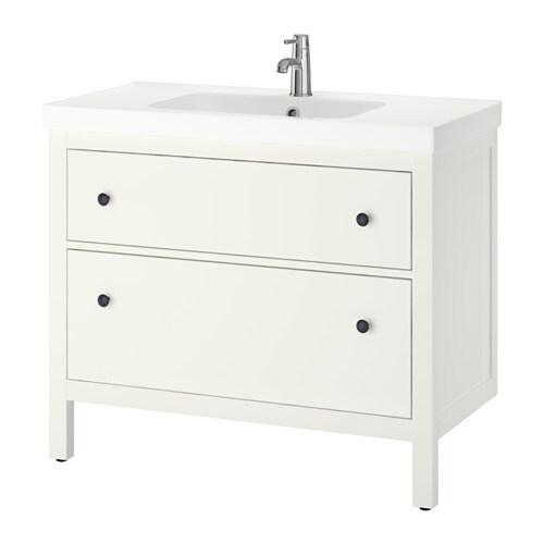 hemnes odensvik meuble lavabo 2tir blanc ikea. Black Bedroom Furniture Sets. Home Design Ideas