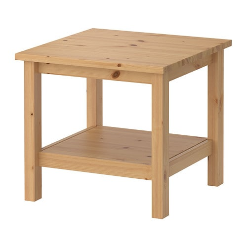Hemnes table d 39 appoint brun clair ikea - Table d appoint pliante ikea ...