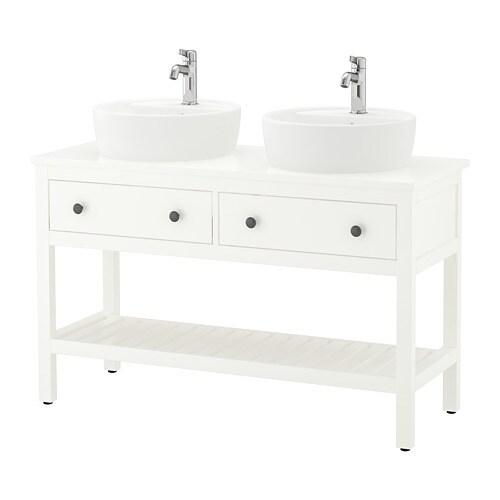 hemnes t rnviken meuble lav ouv lavabo poser 45 blanc ikea. Black Bedroom Furniture Sets. Home Design Ideas