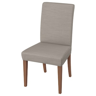 HENRIKSDAL chaise brun/Nolhaga gris-beige 110 kg 51 cm 58 cm 97 cm 51 cm 42 cm 47 cm