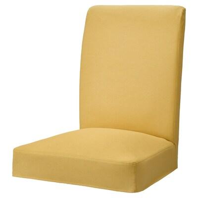 HENRIKSDAL housse pour chaise Orrsta jaune doré