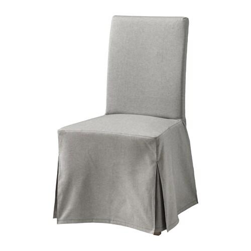 henriksdal chaise avec housse longue orrsta gris clair bouleau ikea. Black Bedroom Furniture Sets. Home Design Ideas