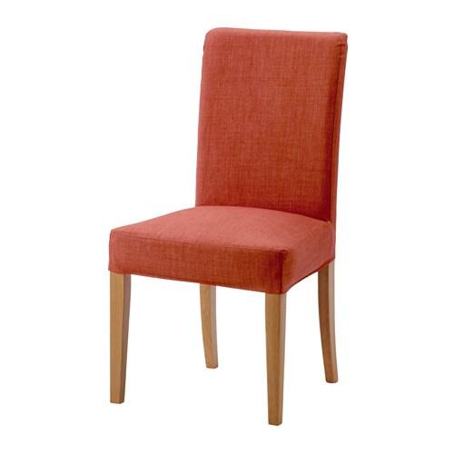 henriksdal chaise skiftebo orange fonc ikea. Black Bedroom Furniture Sets. Home Design Ideas