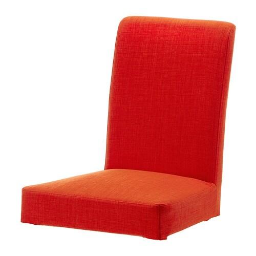 HENRIKSDAL Housse pour chaise , Skiftebo orange
