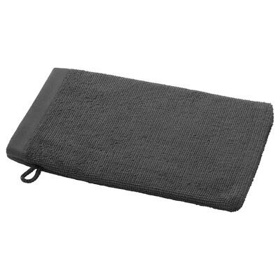 HIMLEÅN gant de toilette gris foncé/mélange 20 cm 15 cm 0.03 m² 2 pièces