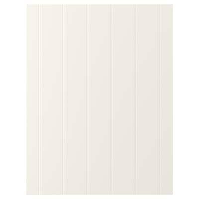 HITTARP Panneau latéral de finition, blanc cassé, 62x80 cm