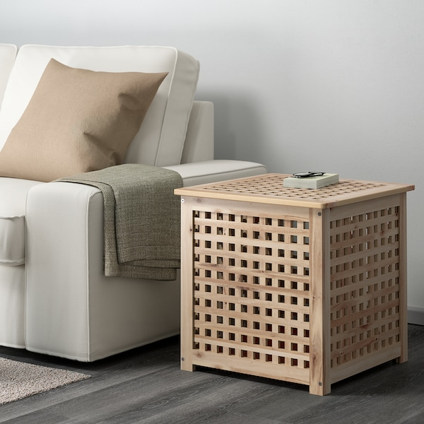 HOL Table d'appoint, acacia, 50x50 cm
