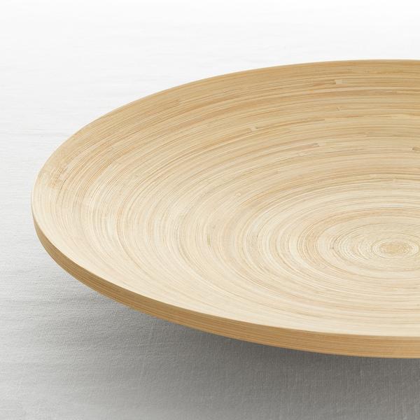 HULTET Plat, bambou, 30 cm