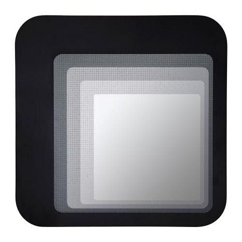 hylkje miroir noir ikea. Black Bedroom Furniture Sets. Home Design Ideas