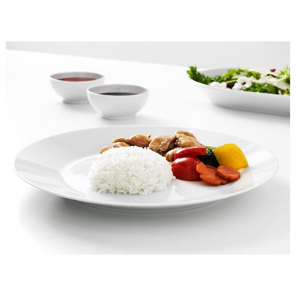 IKEA 365+ Assiette, blanc, 27 cm