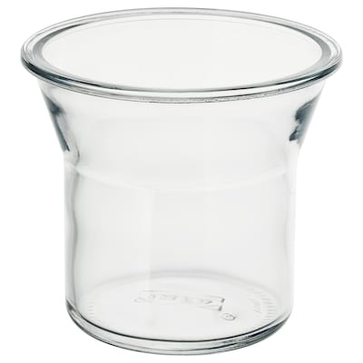 IKEA 365+ Bocal, rond/verre, 1.0 l