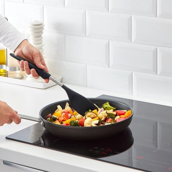 IKEA 365+ HJÄLTE Spatule, acier inoxydable/noir