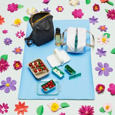 IKEA 365+ Kit 4p, boîte rep+bout+sac+bloc fr