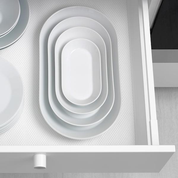IKEA 365+ Plat, blanc, 38x22 cm