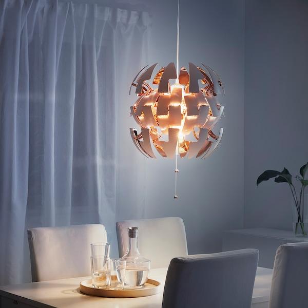 IKEA PS 2014 suspension blanc/couleur cuivre 13 W 35 cm 150 cm