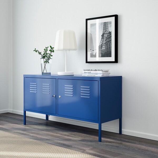 IKEA PS Armoire métallique, bleu, 119x63 cm