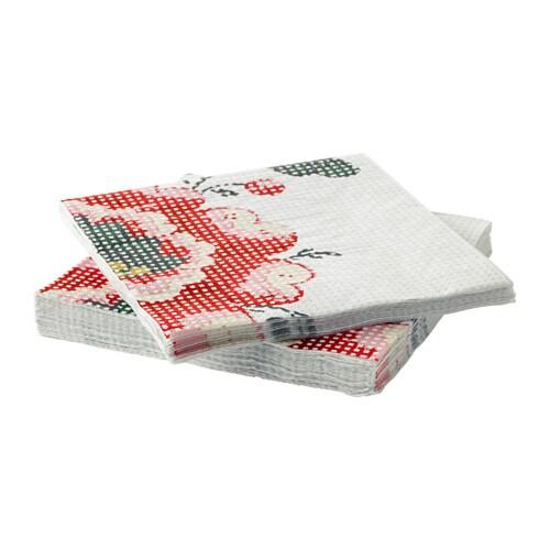 inbjudande serviettes en papier ikea. Black Bedroom Furniture Sets. Home Design Ideas
