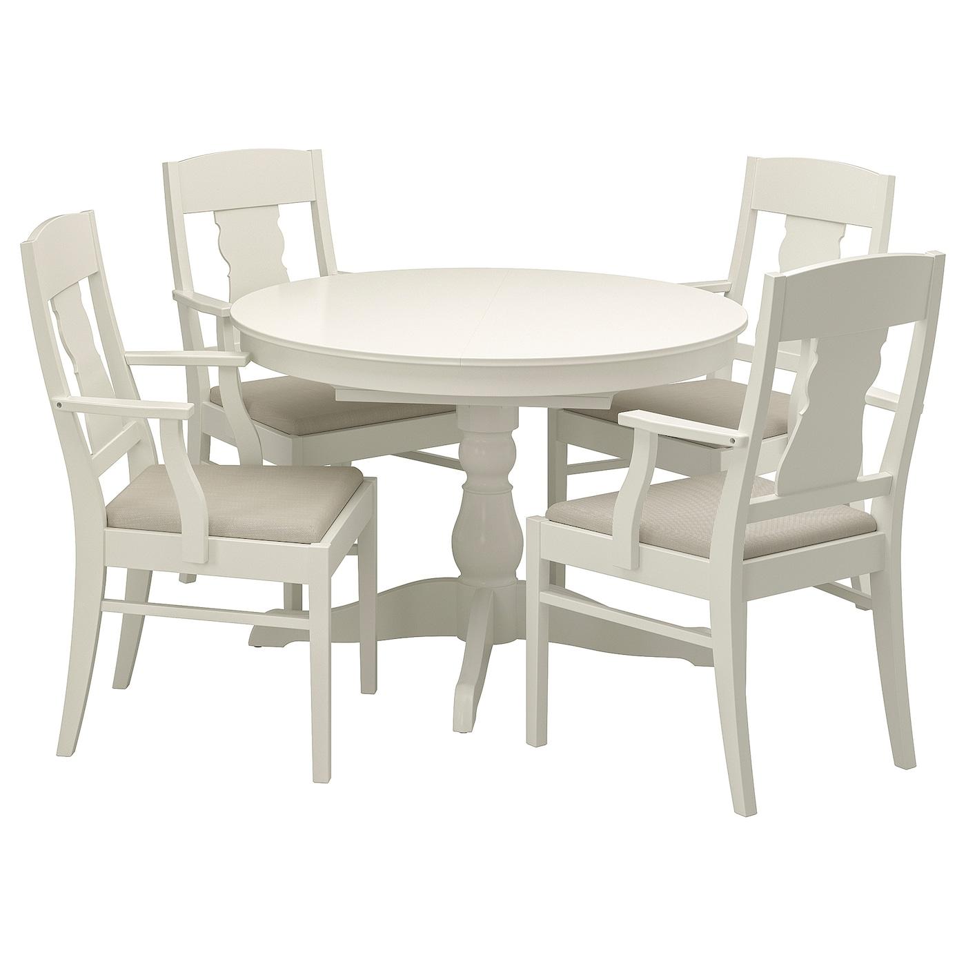 Ikea Table Ronde Et 4 Chaises